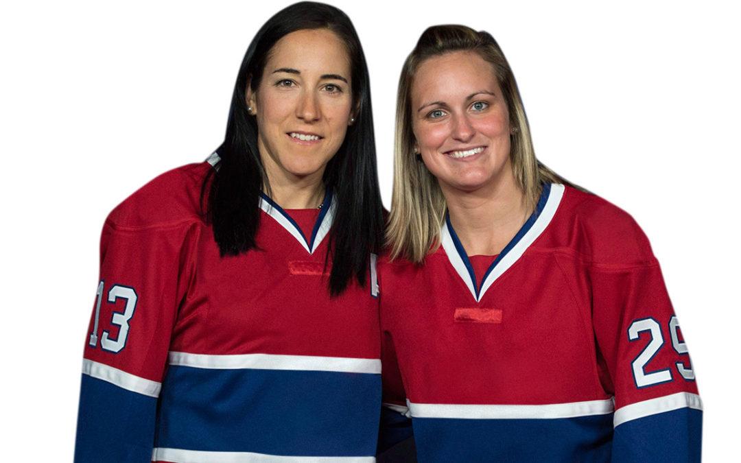 Les olympiennes Caroline Ouellette et Marie-Philip Poulin tiendront un premier camp de hockey dans la région de Gatineau.
